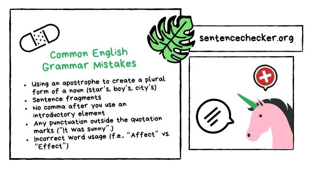 english sentence corrector online
