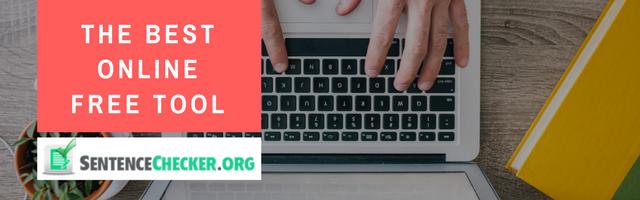 sentence checker online tool