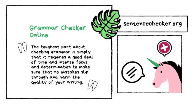 free online grammar checker tool