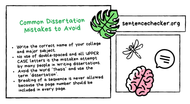 dissertation sentence fragment checker