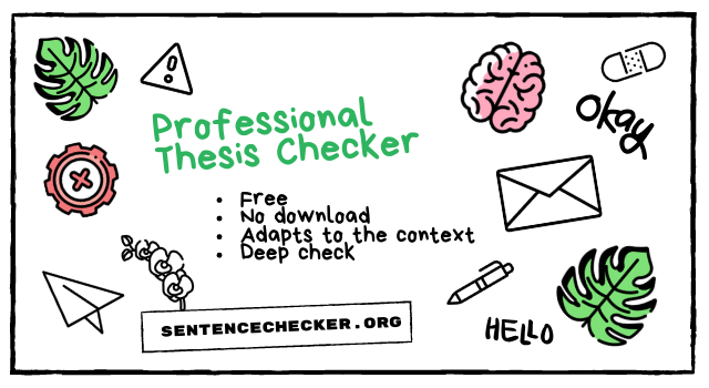 professional thesis checker online
