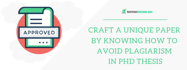 guide on how to avoid plagiarism in phd thesis Singapore