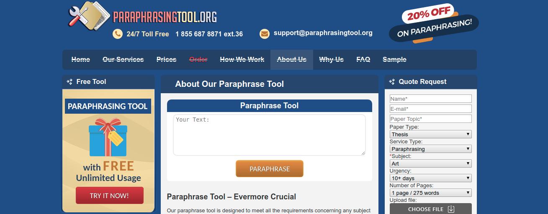 paraphrasingtool.org