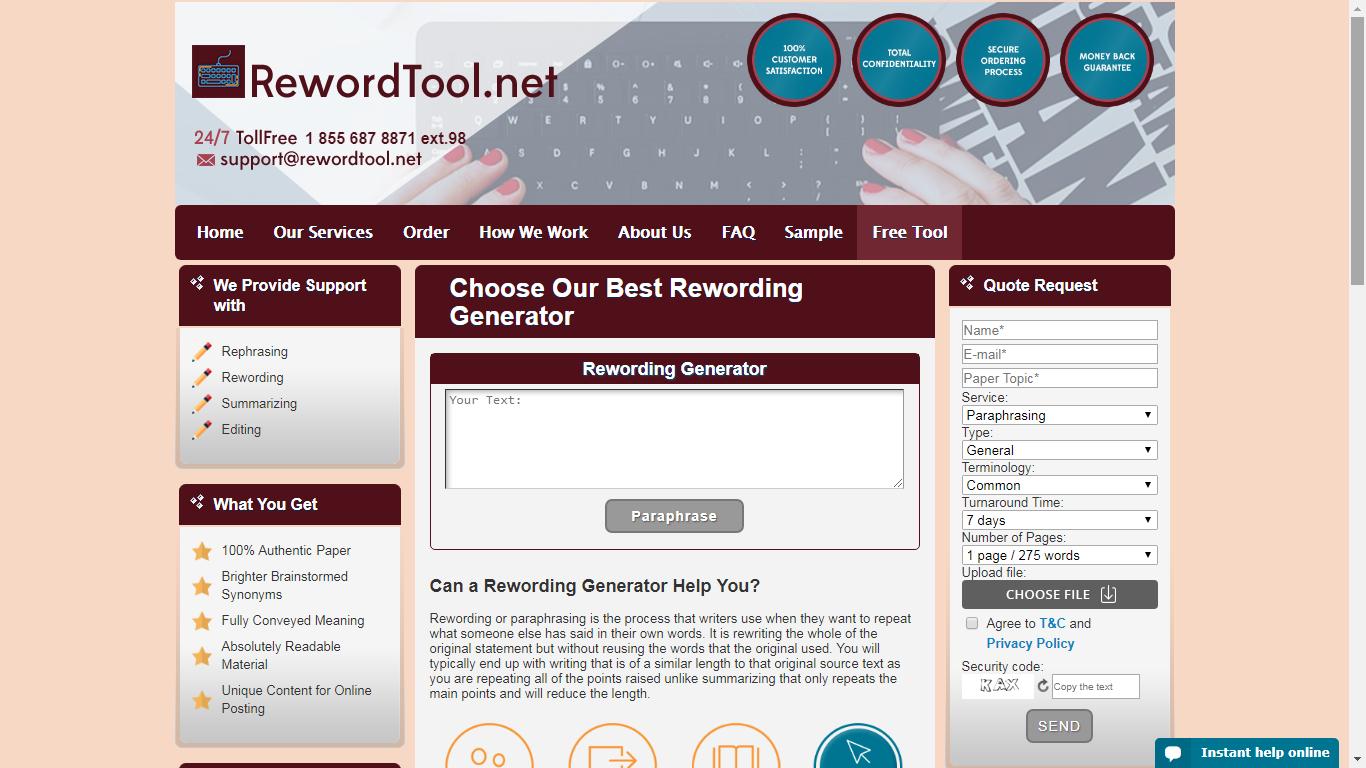 rewordtool.net review