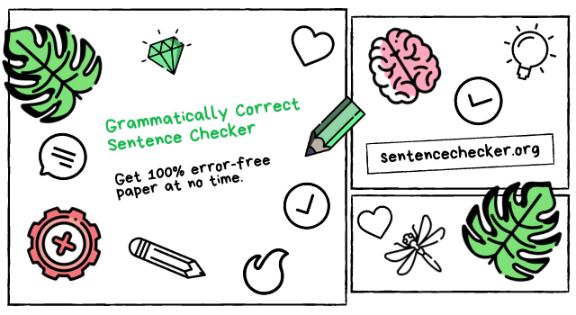 grammatically correct sentence checker free