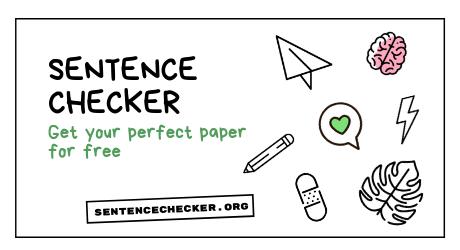 sentence checker online free