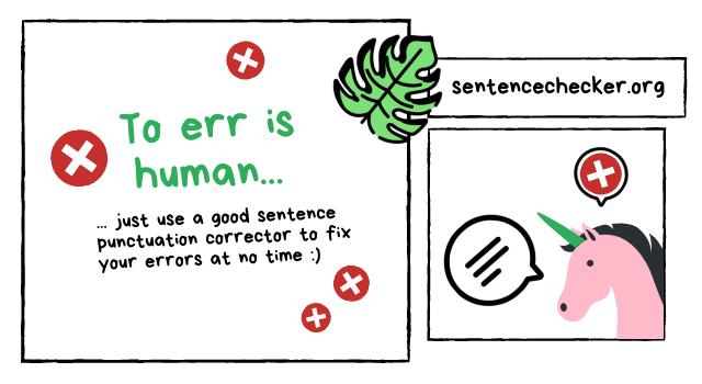 best sentence punctuation corrector